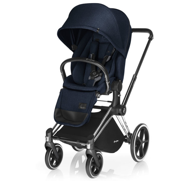Cybex Бебешка количка Priam Lux Seat Midnight Blue 2017